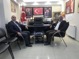 Hakan Özgül Salih Bezgin'i Ziyaret Etti