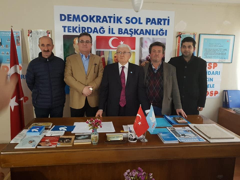 Çerkezköy'de Siyaset Metin Dönmez ile Yeniden Yazılacak