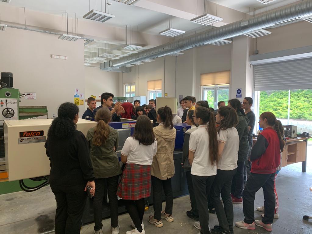 Özel ÇOSB Mesleki ve Teknik Anadolu Lisesi tanıtım günleri düzenlendi…