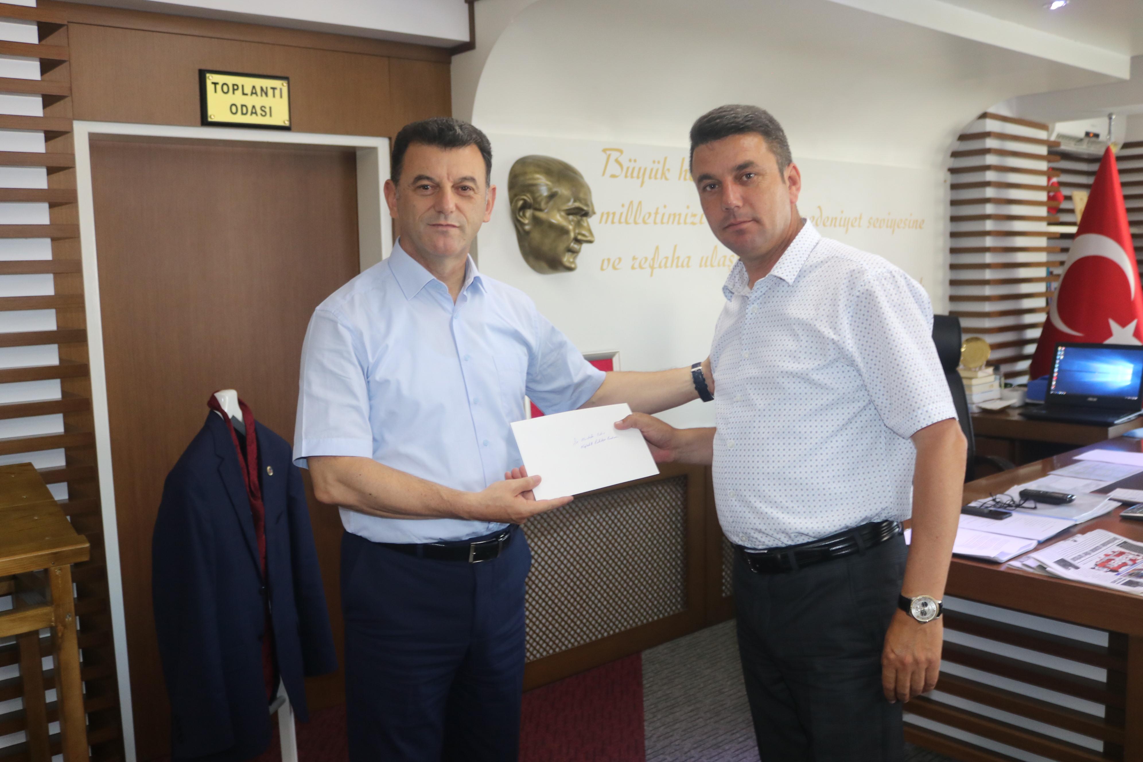 Kıyıköy Belediye Başkanı Ender Sevinç'den Çetin'e Ziyaret