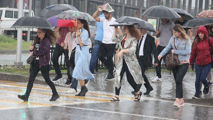 Meteoroloji Uyardı:Sağanak Yağış Bekleniyor