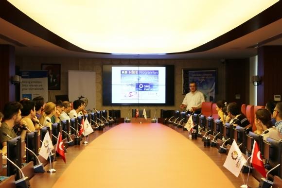 Çerkezköy TSO'dan AB Projesi Eğitimi