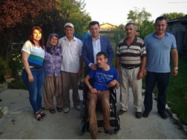 Başkan Çetin Orlu'yu unutmadı