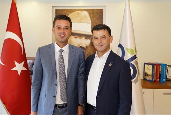 Başkan Çetin'den Sarıkurt'a Ziyaret