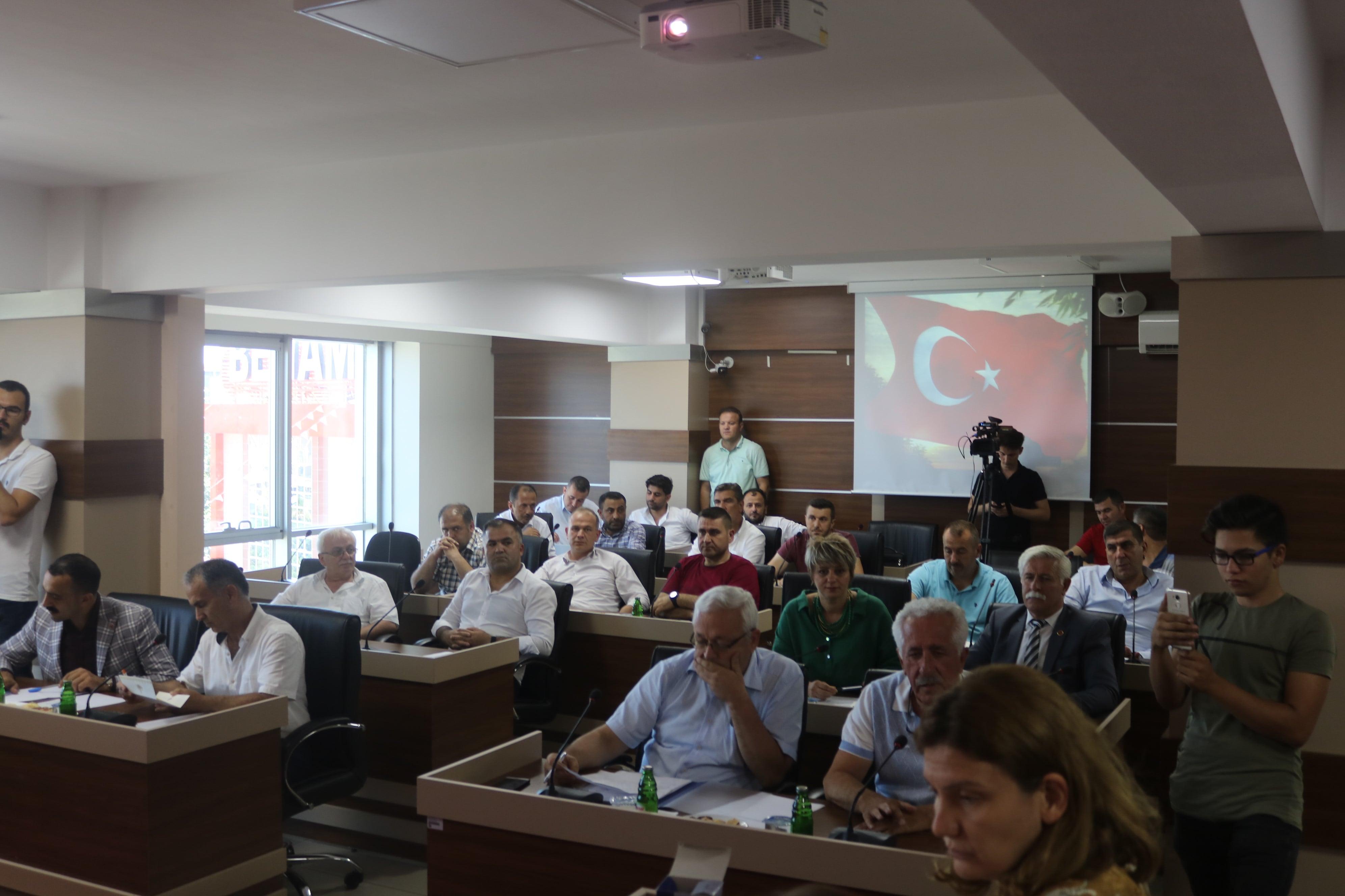 Çetin Başkanlığında Belediye Meclis Toplantısı Yapıldı