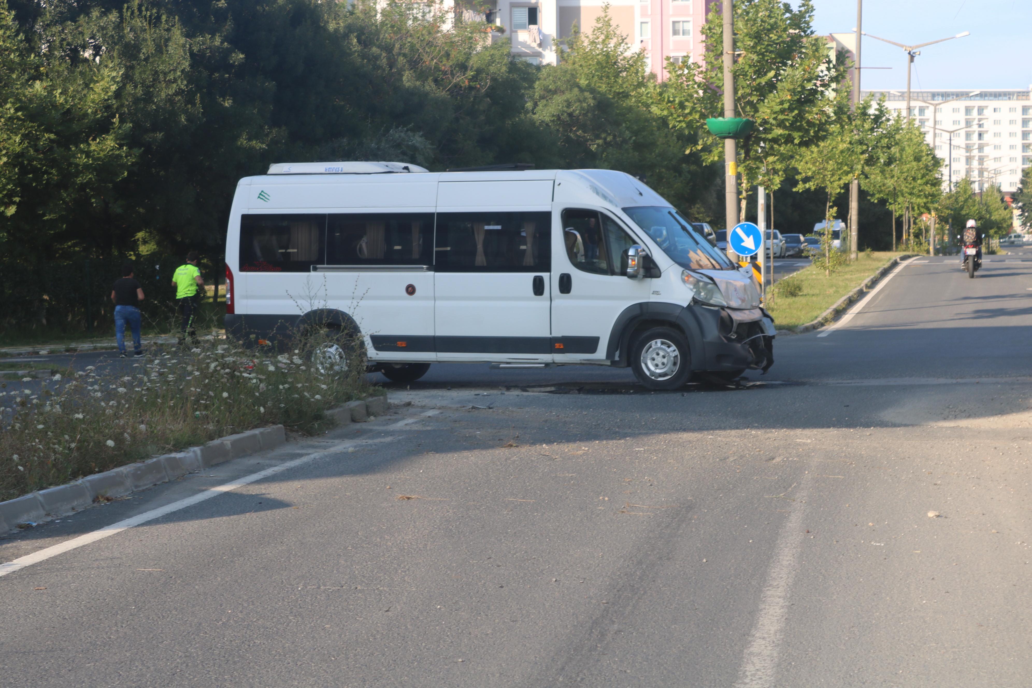 Kapaklı'da Trafik Kazası