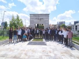 Kapaklı Ülkü Ocakları Enver Paşa'nın Huzurunda