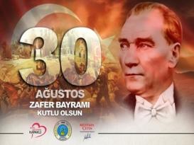 BAŞKAN ÇETİN'DEN 30 AĞUSTOS ZAFER BAYRAMI MESAJI