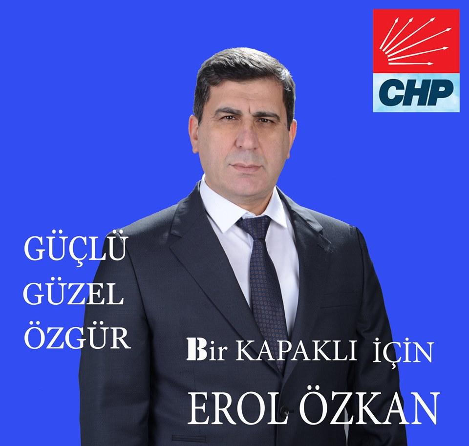 Özkan Resmen CHP İlçe Başkan Adayı