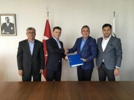 """""""Kapaklı Belediyesi Turizme Yönelik Yöresel ürünler Üretim ve Satış Merkezi"""" Projesinin İmzaları Atıldı"""