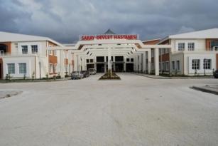 Saray Devlet Hastanesinde Deprem Paniği
