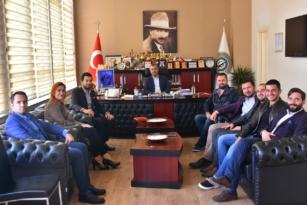 Cemal Gökhan Cengiz'den Ulaş Yurdakul'a Ziyaret