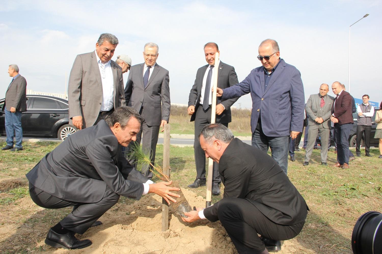 ÇOSB 'Geleceğe Nefes Ol' fidan dikim kampanyasına 1.111 adet fidan dikimiyle destek oldu