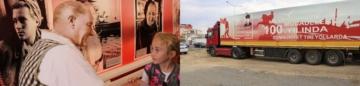 CUMHURİYET TIRI ERGENE'YE GELDİ