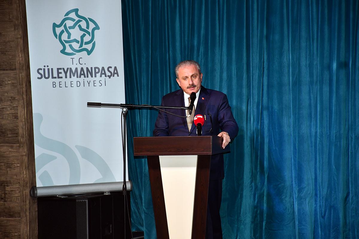 Meclis Başkanı Şentop ve Vali Yıldırım Tapu Dağıtım Törenine Katıldı