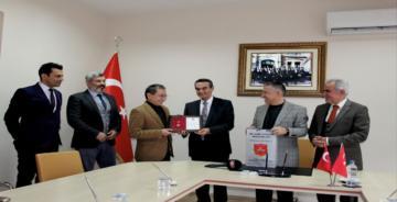 TSK'ya Bağış Yapan Gülerçin Kolejine Bronz Madalya