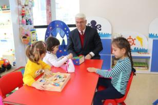 Ergene Belediyesi Beren Bebek Çocuk Oyun Evi 1.Yılını Doldurdu