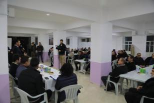 Başkan Çetin Bahçelievler Mahallesinde Vatandaşlarla Buluştu