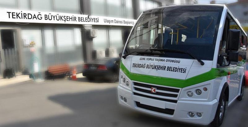 Tekirdağ 'da Toplu Ulaşım 15 Gün Boyunca Yasaklandı