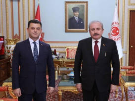 Başkan Çetin Ankara'da Ziyaretlerde Bulundu