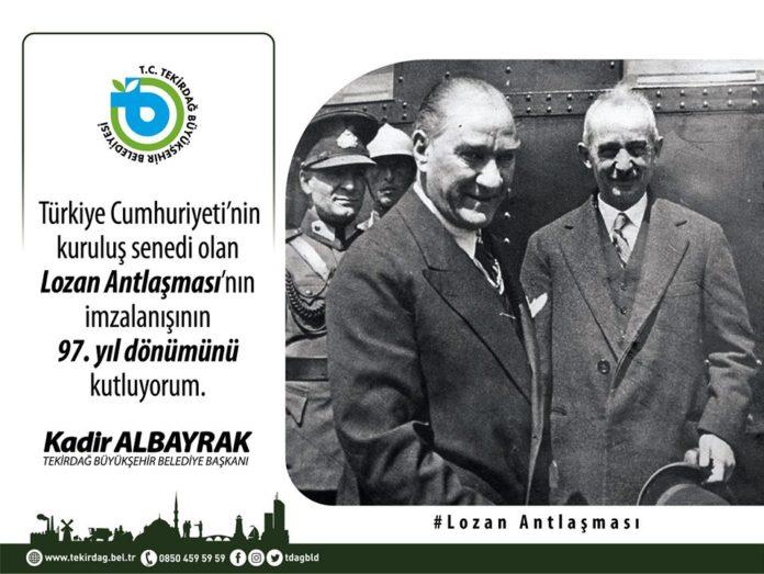 Tekirdağ Büyükşehir Belediye Başkanı Kadir Albayrak