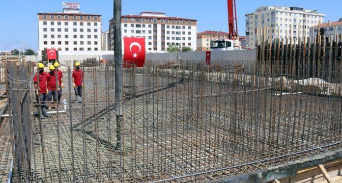 KIZILPINAR JANDARMA KARAKOLU'NUN TEMELİ ATILDI